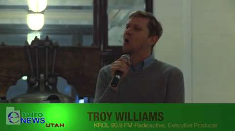 """Troy Williams of KRCL's """"Radioactive"""" Rebukes the Eagle Forum and the Utah State Senate for Failing to Pass LGBT Anti-Discrimination Law S.B. 51"""