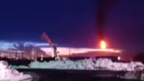 Yet Another Nighttime Burn-off at Good Ol' Holly Refinery – Holly Nabbed Again by Neighborhood Citizen Journalists