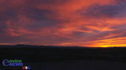 EnviroNews USA Officially Launches its Nature and Wildlife Division with a Spectacular Sunset Time-Lapse Music Video on Antelope Island