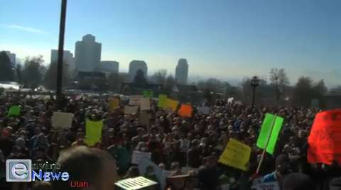 Largest Air Pollution Rally in U.S. History Goes down on Utah's Capitol Hill