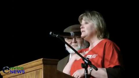 Jean Ross of National Nurses United Hits Home Run for Bernie Sanders At 'Climate Emergency Caucus'