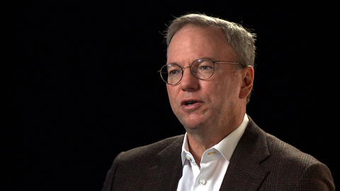 The impact of disruptive technology: A conversation with Eric Schmidt