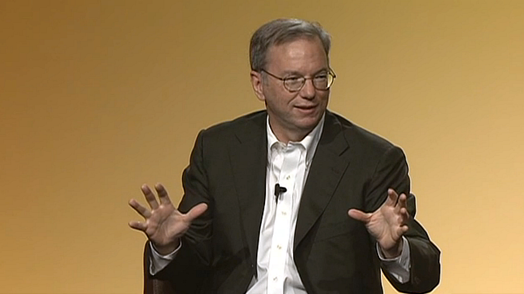 Eric Schmidt on business culture technology and social issues
