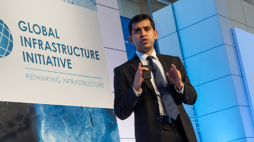Keynote presentation at the Global Infrastructure Initiative