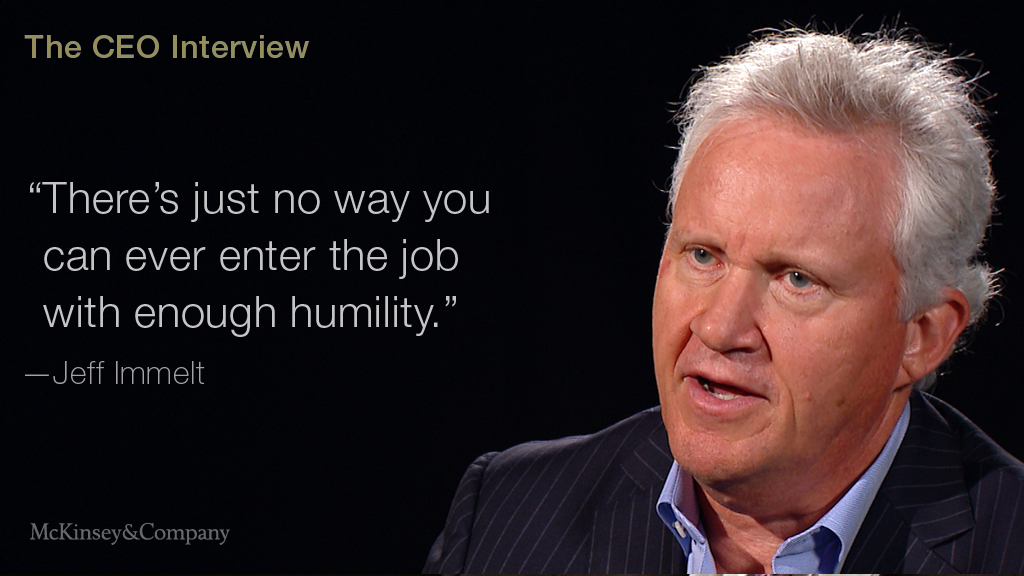 GE's Jeff Immelt on evolving a corporate giant