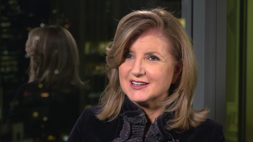 Arianna Huffington on the link between leadership and well-being