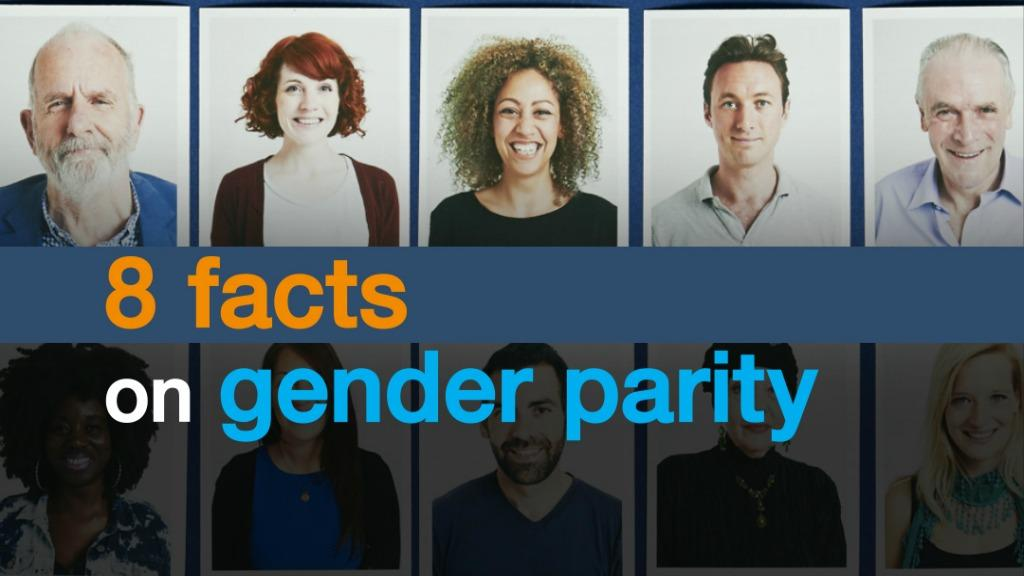 8 facts on gender parity