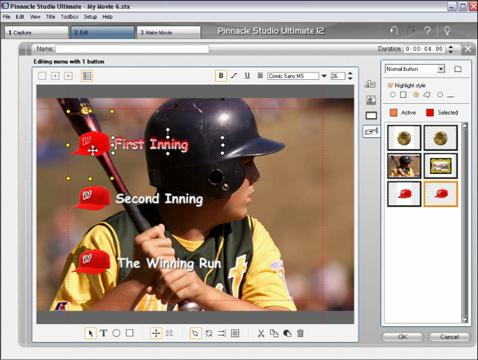 Creating Custom DVD Menus in Studio (versions 11 thru 15)