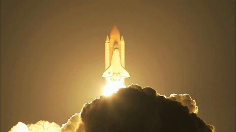 Shuttle Launch Night