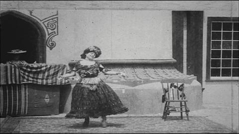 Woman Dancing Vaudeville