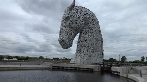 The Kelpies, Helix Park, Falkirrk, Scotland