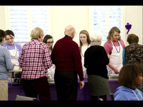 Shrove Tuesday at St. Philip's
