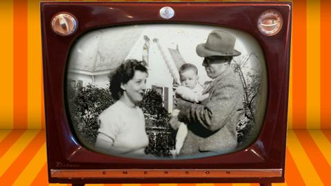 Old TV intro to a family history video