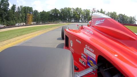 Indy Lights Practice Wing Side