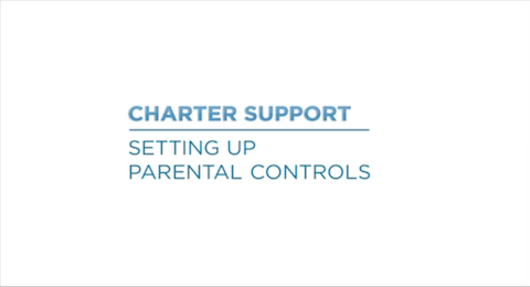 Link to support video about Parental Controls Video