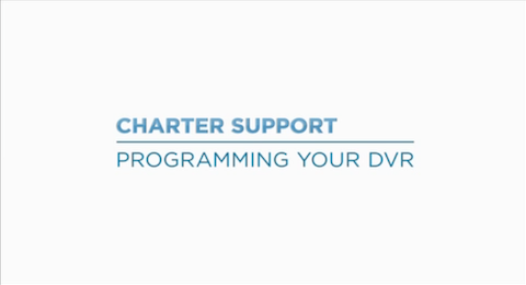 Programming Your DVR