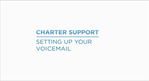 Link to support video about Setting Up Your Voicemail