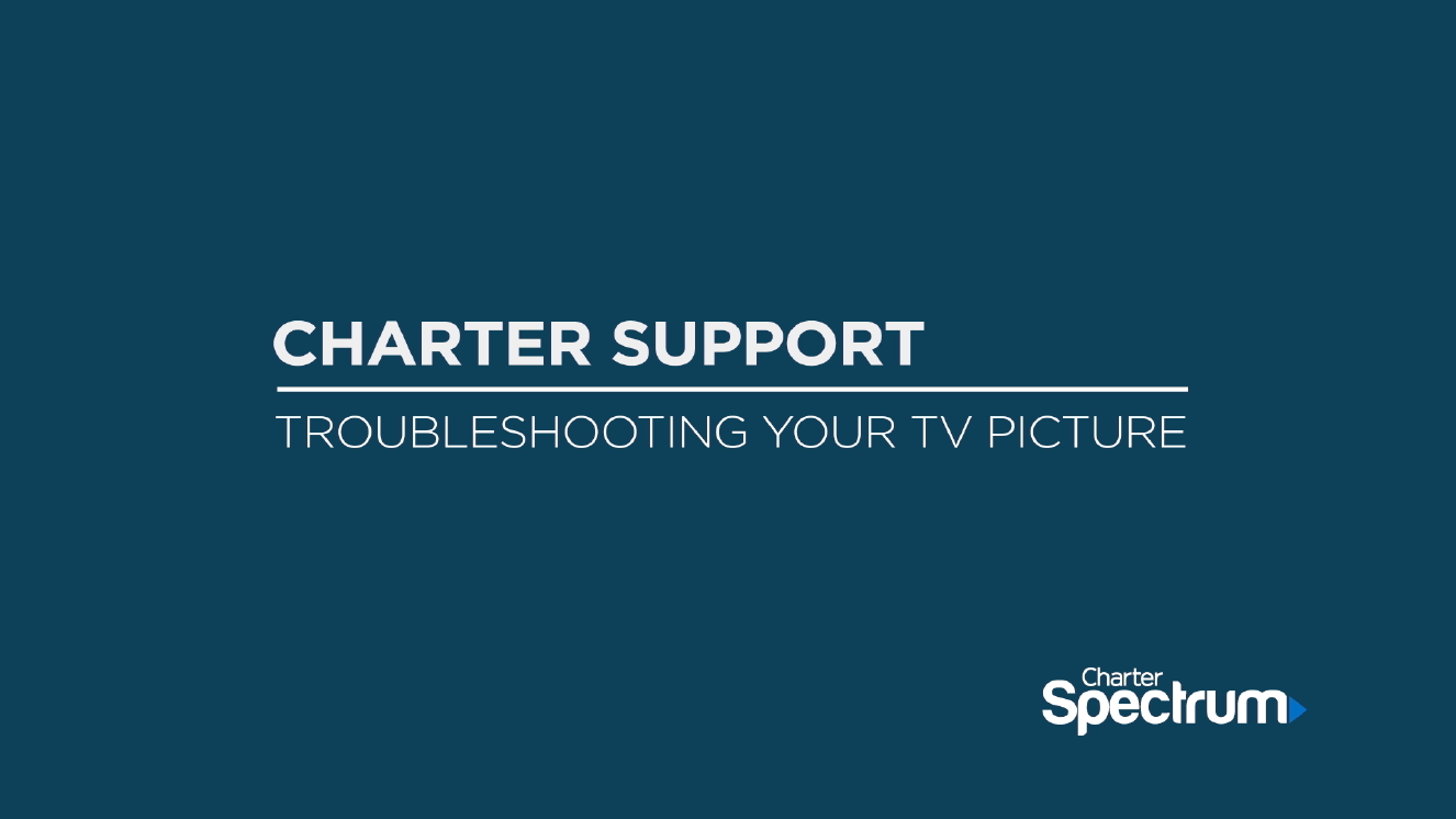Link to support video about Troubleshooting Your TV Picture Video