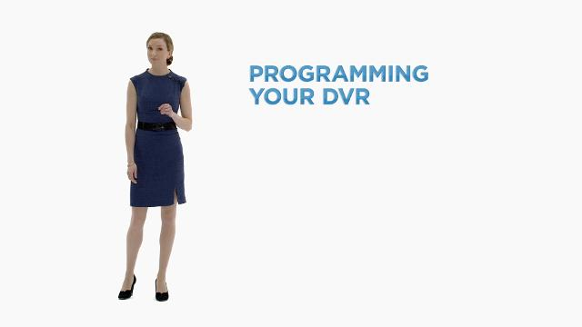 Link to support video about Programming Your DVR