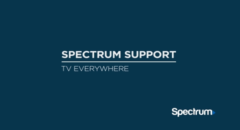 Link to support video about TV Everywhere Video