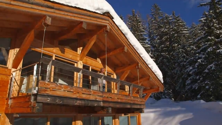 Balcon En Bois Pour Chalet : Chalet Balcon Chalet Pictures to pin on Pinterest