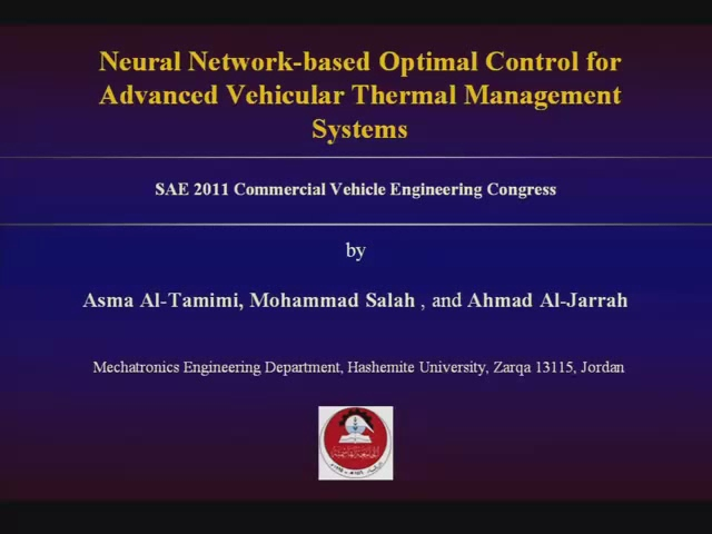 Neural Network-based Optimal Control for Advanced Vehicular Thermal Management Systems
