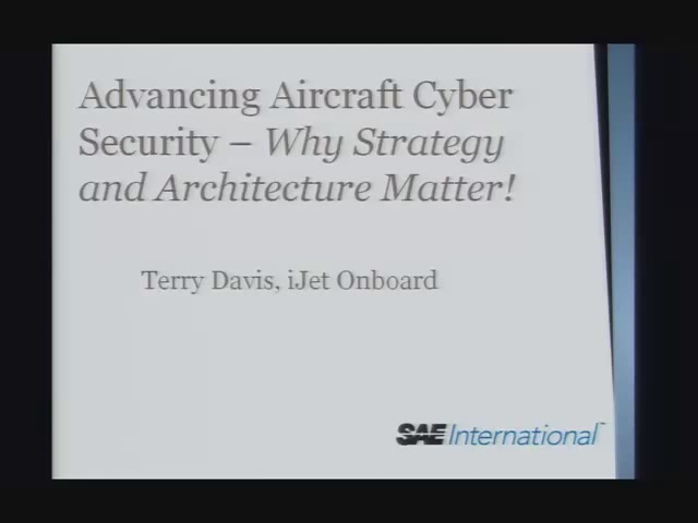 Advancing Aircraft Cyber Security - Potential New Architectures and Technologies