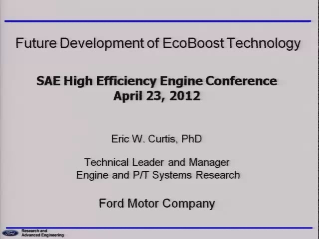 Future Development of EcoBoost Technology
