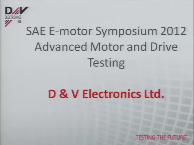 Advanced Testing of Electric Drives and Motors