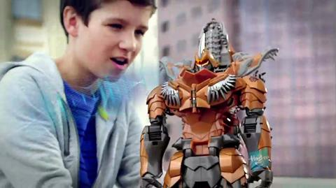 Comercial de TV Stomp and Chomp - Grimlock