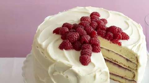 How to decorate Canada's Best Raspberry Layer Cake
