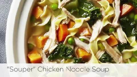 How to make slow cooker chicken noodle soup