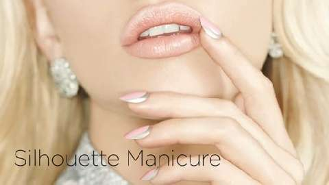 Nail art tutorial: Silhouette manicure