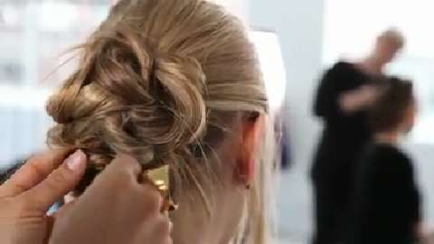 How to make a messy braided bun
