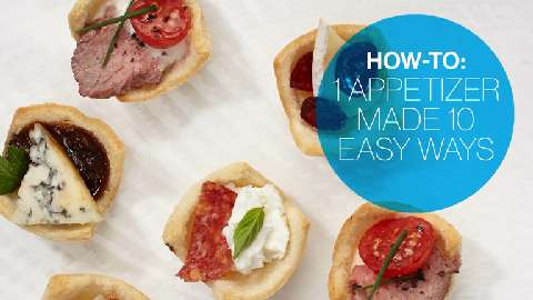 1 appetizer made 10 easy ways