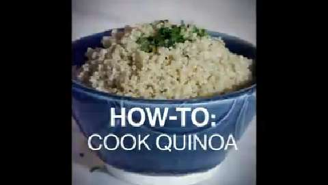 Quick tips: How to cook quinoa