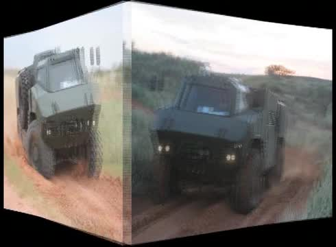 RG35 mine protected family of vehicles