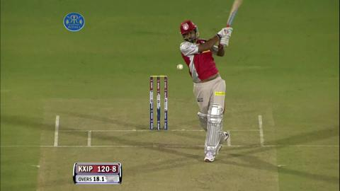 Report : Match 18 - RR vs KXIP