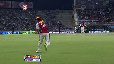 Report : Match 59 – KXIP vs SRH