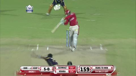 Report: Qualifier 1 – KXIP v KKR