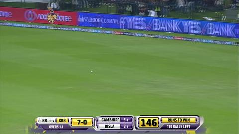 Report: Match 19 – KKR v RR