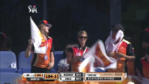 Report: Match 12 – SRH v DD