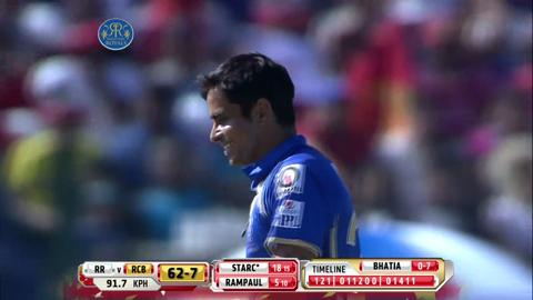 Report: Match 14 – RR v RCB
