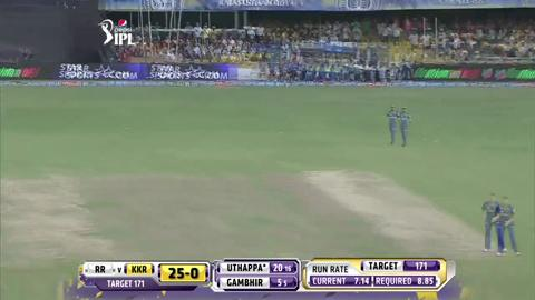 Report: Match 25 - RR vs KKR