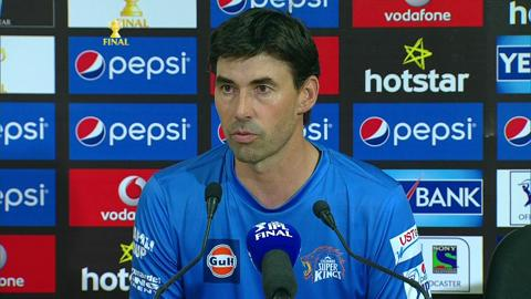 M60: MI vs CSK – Press Conference – Stephen Fleming