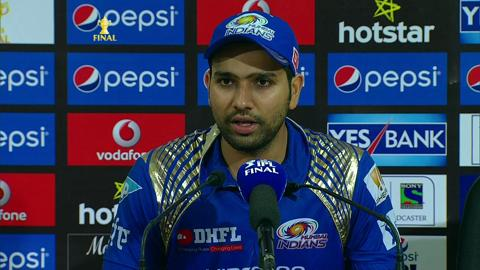 M60: MI vs CSK – Press Conference – Rohit Sharma