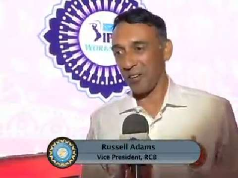 IPL 2016: Russell Adams, RCB VP - Interview