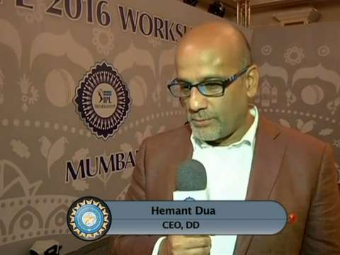 IPL 2016: Hemant Dua, DD CEO - Interview