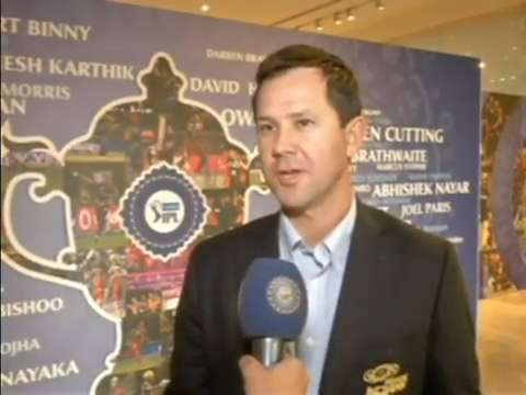 2016 VIVO IPL Player Auction - Ricky Ponting Interview