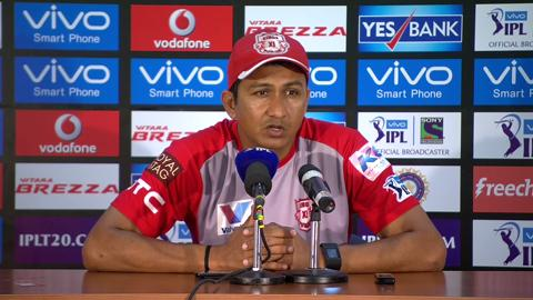 M53: RPS vs KXIP – Press Conference – Sanjay Bangar